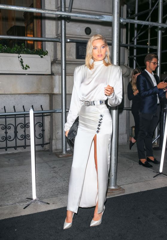 Elsa Hosk – Outside Harper's Bazaar Icons Party in NYC 9/7/18