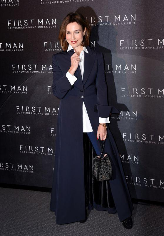 """Elsa Zylberstein – """"First Man"""" Premiere in Paris"""