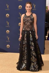 Emilia Clarke – 2018 Emmy Awards