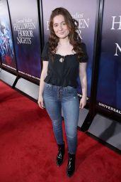 "Emma Kenney – Universal Studios ""Halloween Horror Nights"" in Hollywood 09/14/2018"