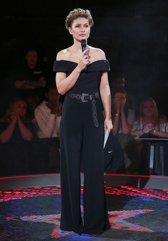 "Emma Willis - ""Celebrity Big Brother"" 3rd Eviction, Borehamwood 09/03/2018"