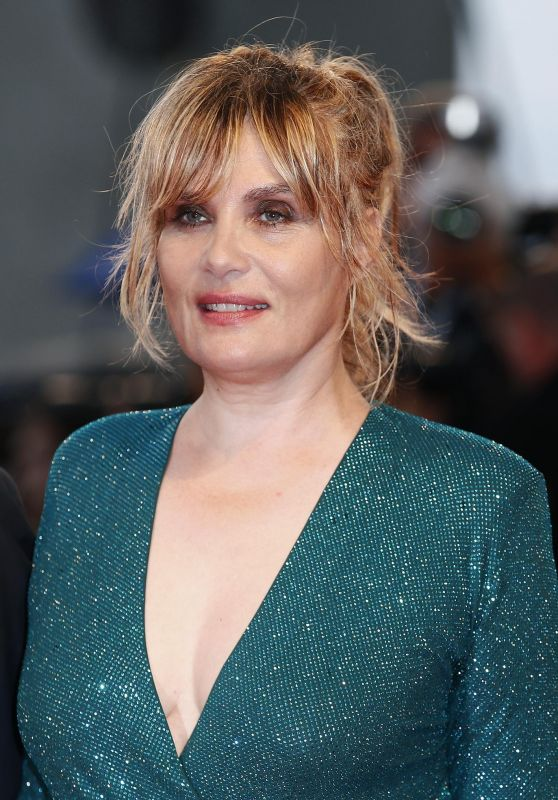 "Emmanuelle Seigner – ""At Eternity's Gate"" Premiere at Venice Film Festival"