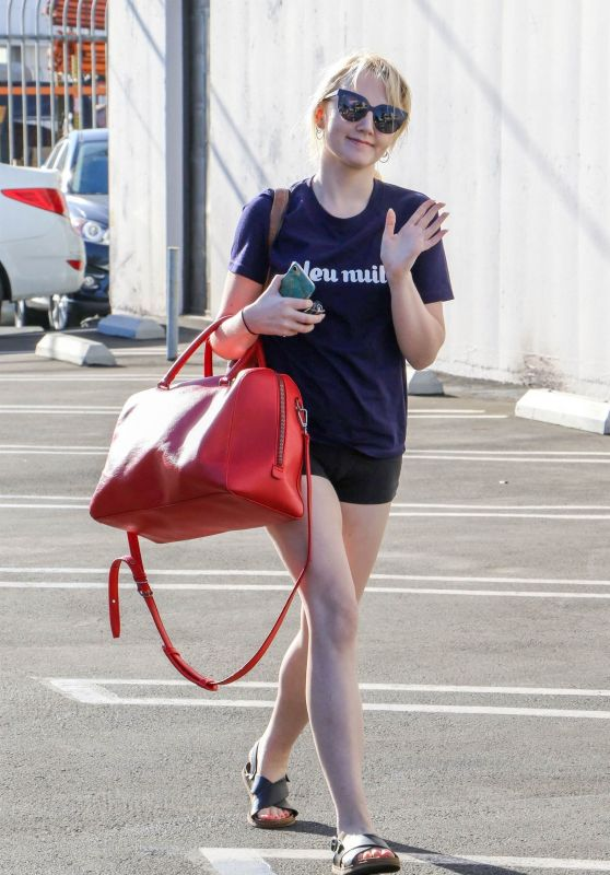 Evanna Lynch - Out in Los Angeles 09/21/2018