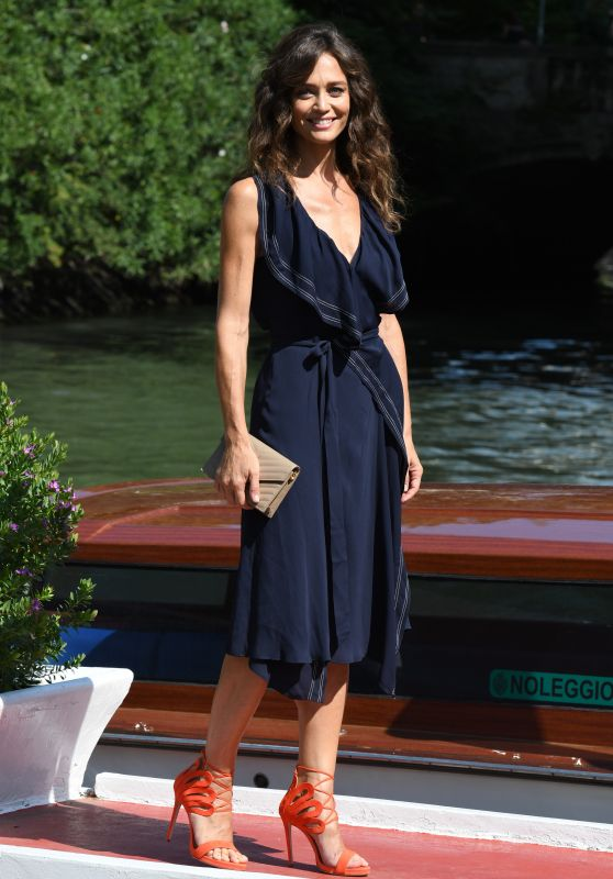 Francesca Cavallin – Arriving at the 75th Venice Film Festival 09/03/2018