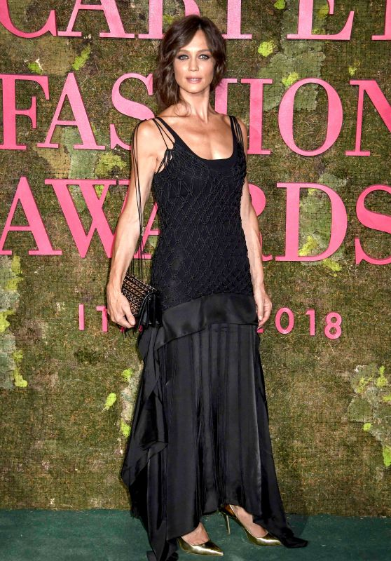 Francesca Cavallin – Green Carpet Fashion Awards in Milan 09/23/2018