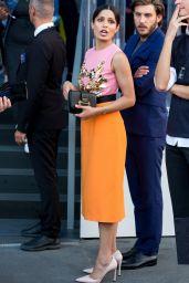 Freida Pinto - Moschino Show at Milan Fashion Week 09/20/2018