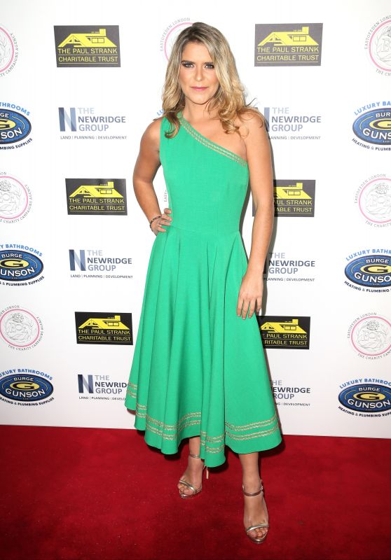Gemma Oaten – Paul Strank Charitable Trust Annual Gala in London 09/22/2018