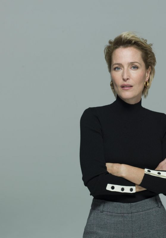 "Gillian Anderson - ""All About Eve"" Play Photoshoot in London"
