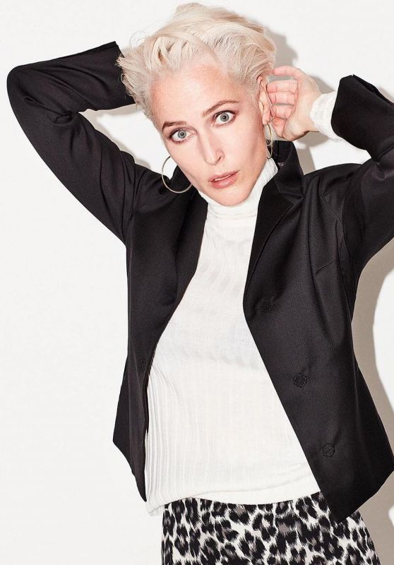 Gillian Anderson - Photoshoot for The Times Magazine, September 2018