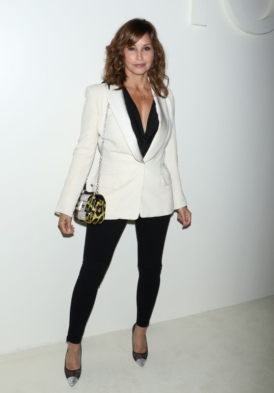 Gina Gershon – Tom Ford Fashion Show in NYC 09/05/2018