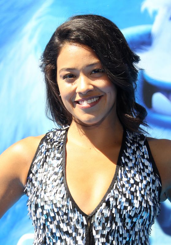 """Gina Rodriguez – """"Smallfoot"""" Premiere in Los Angeles"""