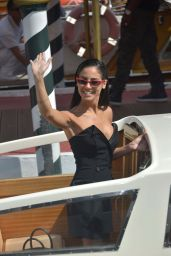 Giulia De Lellis – Arriving at the 75th Venice Film Festival 09/02/2018