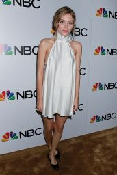 Grace Van Dien - NBC and The Cinema Society Party for The Cast of NBC