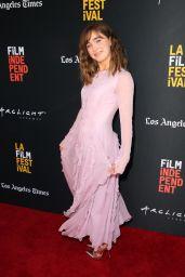 "Haley Lu Richardson - ""The Chaperone"" Premiere at LA Film Festival"