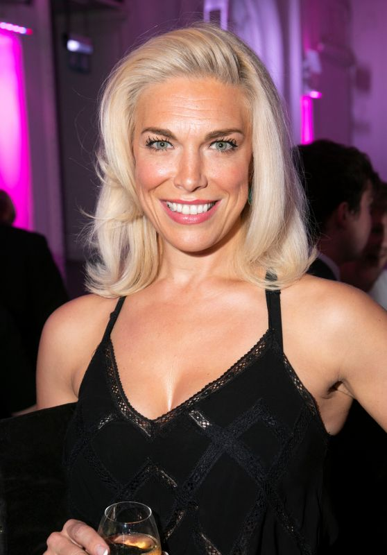 Hannah Waddingham – The Stage Debut Awards 2018 in London