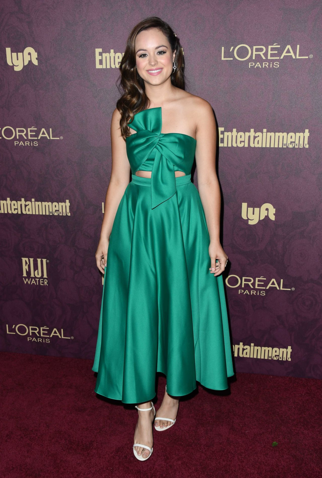 Hayley Orrantia – 2018 Pre-Emmy Party in West Hollywood