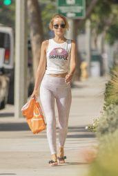Hayley Roberts Street Style - Calabasas 09/24/2018