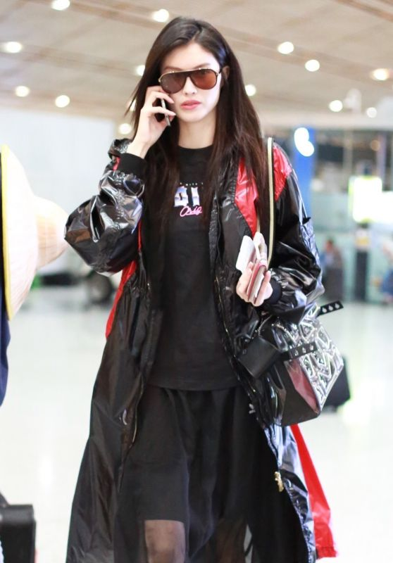 He Sui - Airport in Beijing 09/04/2018