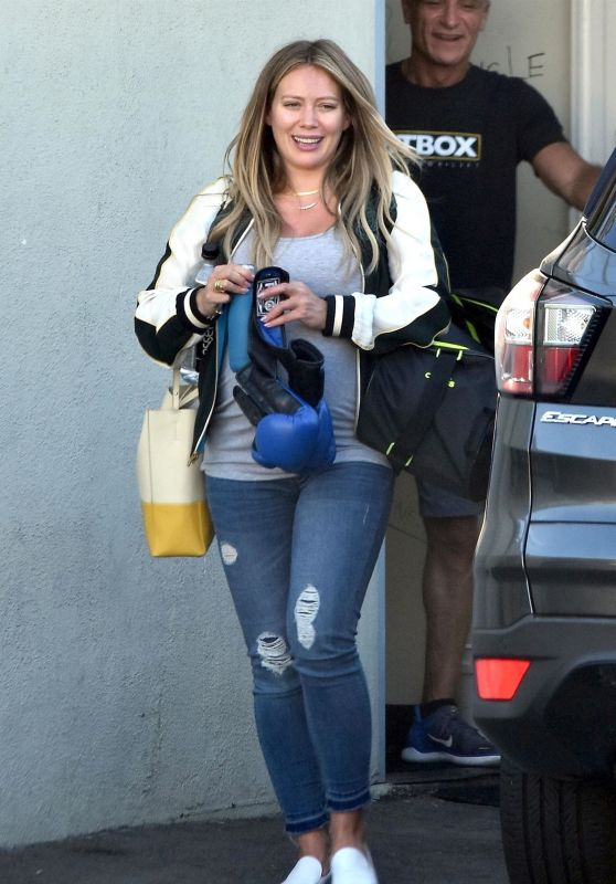 Hilary Duff - Out in Los Angeles 09/27/2018