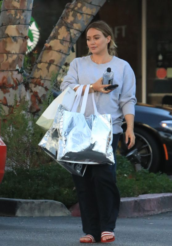 Hilary Duff Shopping in Beverly Hills 09/24/2018