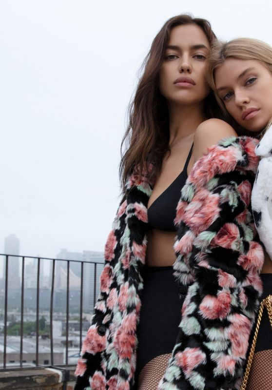 Irina Shayk and Stella Maxwell  - The Kooples Brand Autumn-Winter 2018 Campaign