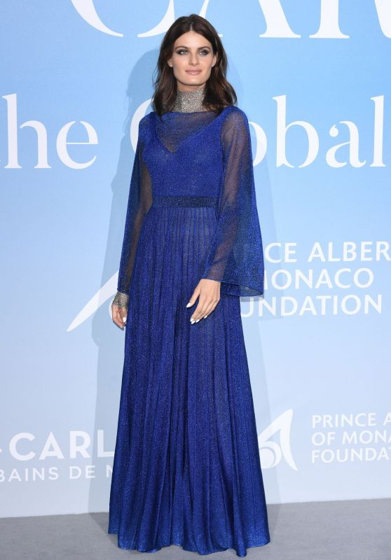 Isabeli Fontana – Monte-Carlo Gala for the Global Ocean 2018