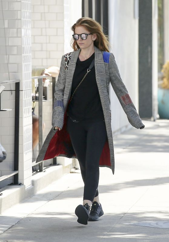 Isla Fisher - Out in Los Angeles, September 2018