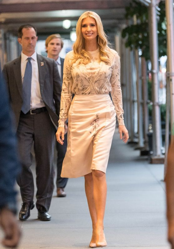 Ivanka Trump - First Day of the UN Week in NY 09/24/2018