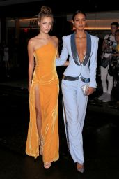 Jasmine Sanders and Josephine Skriver – Vanity Fair's Best-Dressed 2018 in NYC