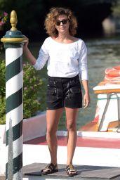 Jasmine Trinca Sighting During 75th Venice Film Festival 08/29/2018