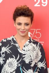 """Jasmine Trinca - """"Sulla mia pelle"""" Photocall at Venice Film Festival"""
