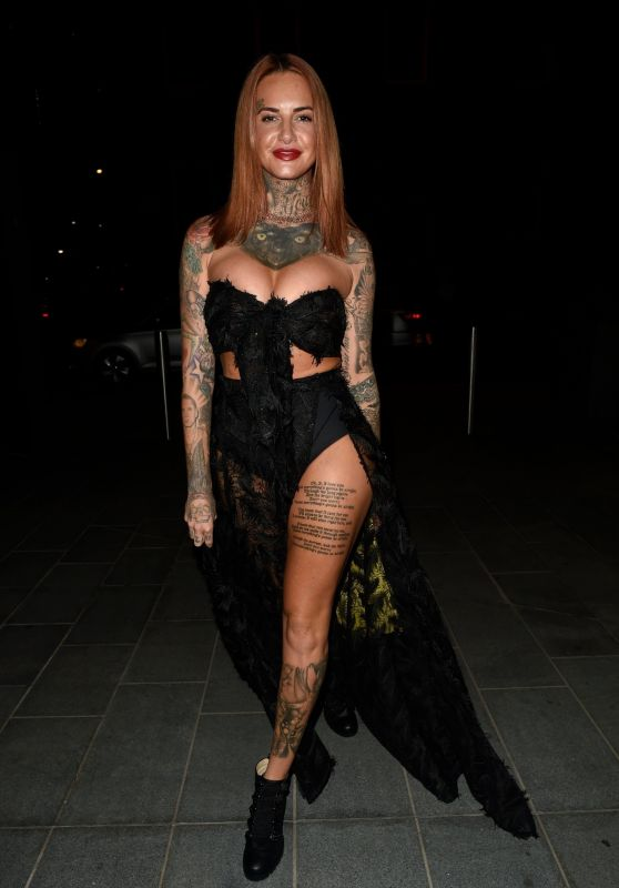 Jemma Lucy Night Out at 20 Stories in Manchester 09/02/2018