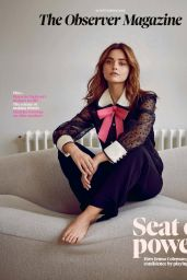 """Jenna-Louise Coleman - Photoshoot for """"The Observer"""" 09/16/2018"""