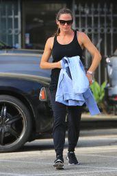 Jennifer Garner - Boxing at a Gym in LA 09/28/2018