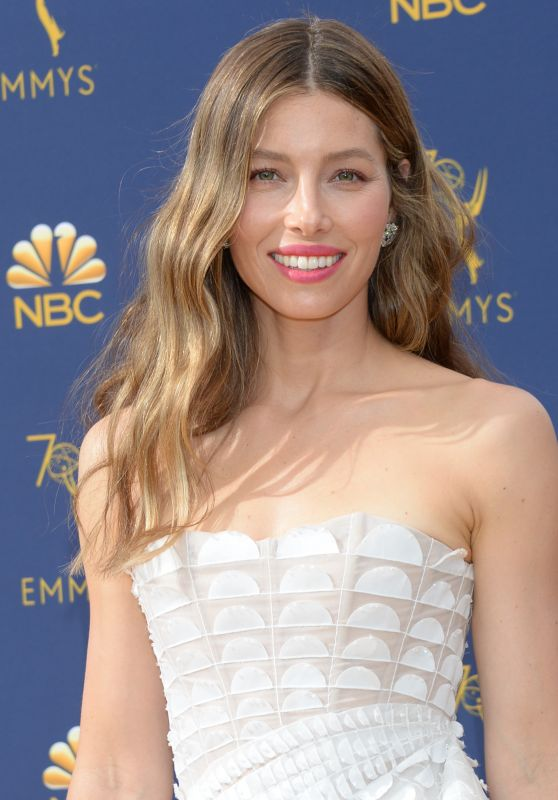 Jessica Biel - 2018 Emmy Awards