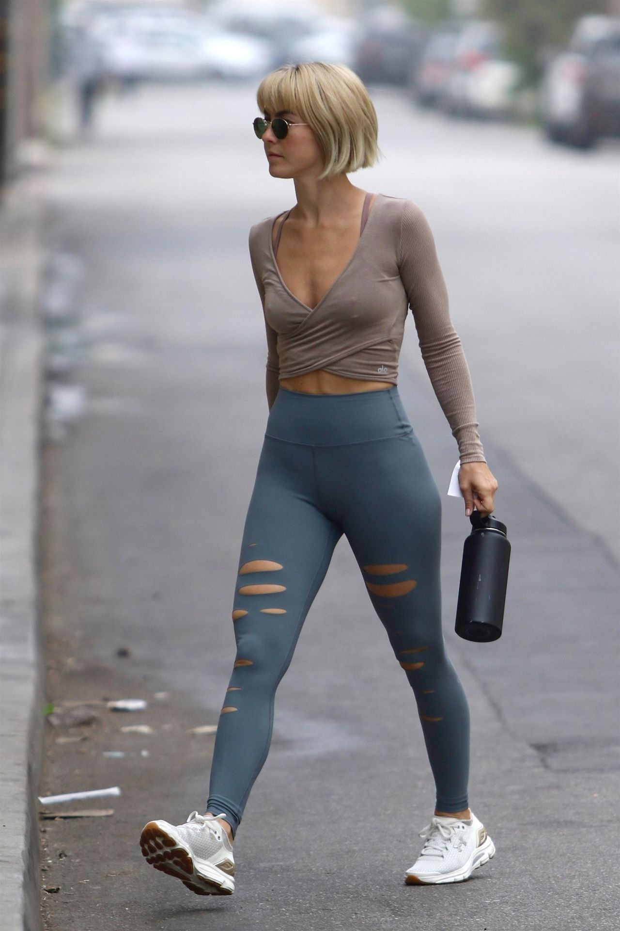 Julianne Hough in Tights - Out in Los Angeles 09/28/2018