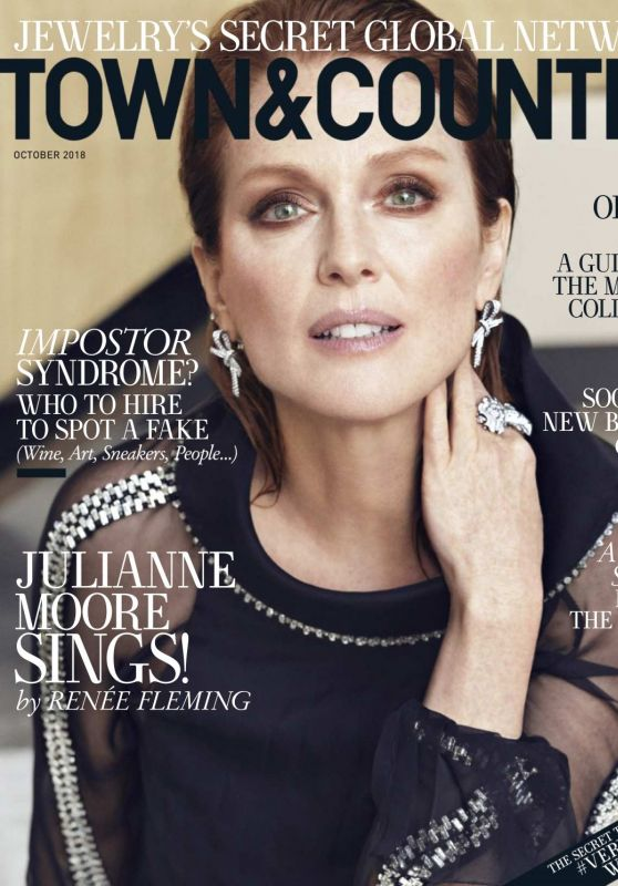 Julianne Moore - Town & Country USA, October 2018