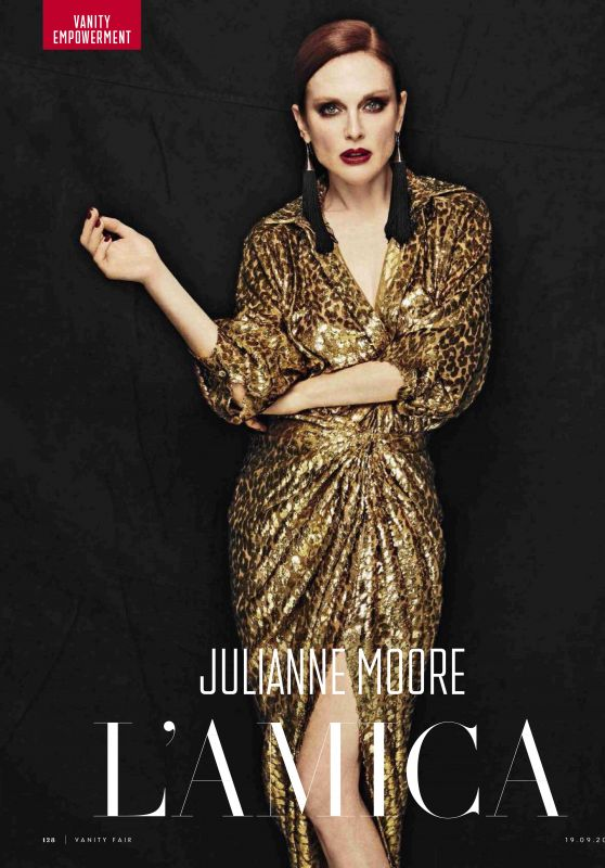 Julianne Moore - Vanity Fair Italia 19 September 2018