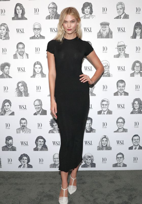 Karlie Kloss - WSJ Magazines 10th Anniversary Party in NYC