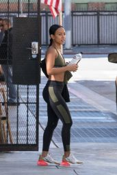 Karrueche Tran in Workout Gear - West Hollywood 09/16/2018