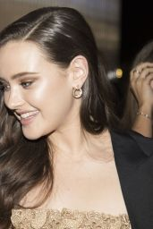 Katherine Langford - Leaving a Party in Milan 09/20/2018
