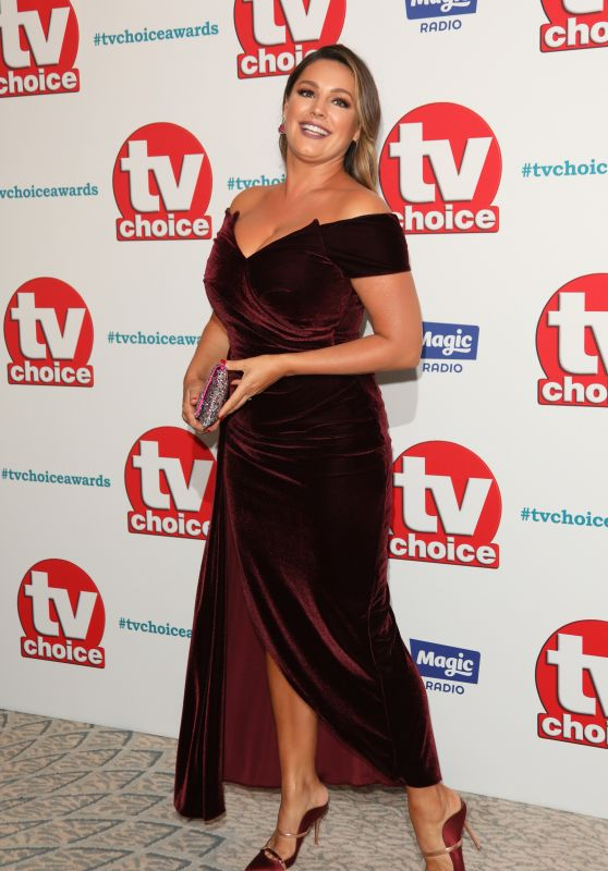 Kelly Brook – 2018 TV Choice Awards in London