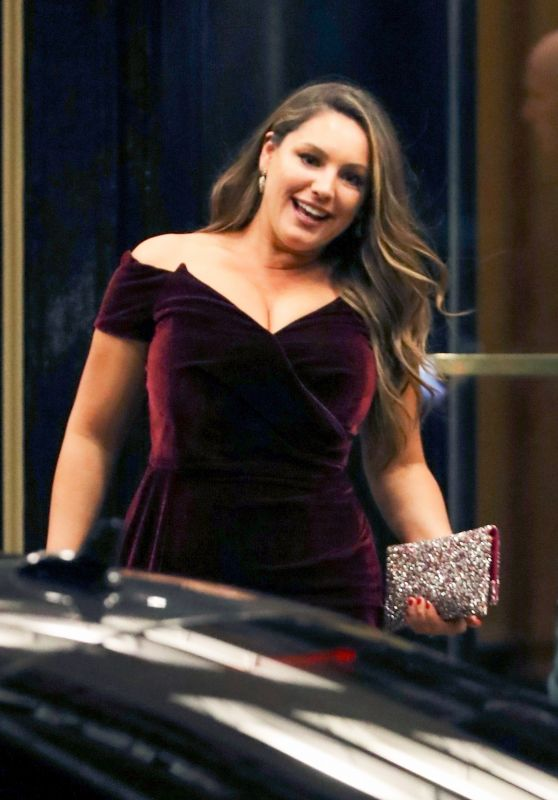 Kelly Brook at the Dorchester Hotel in London 09/10/2018