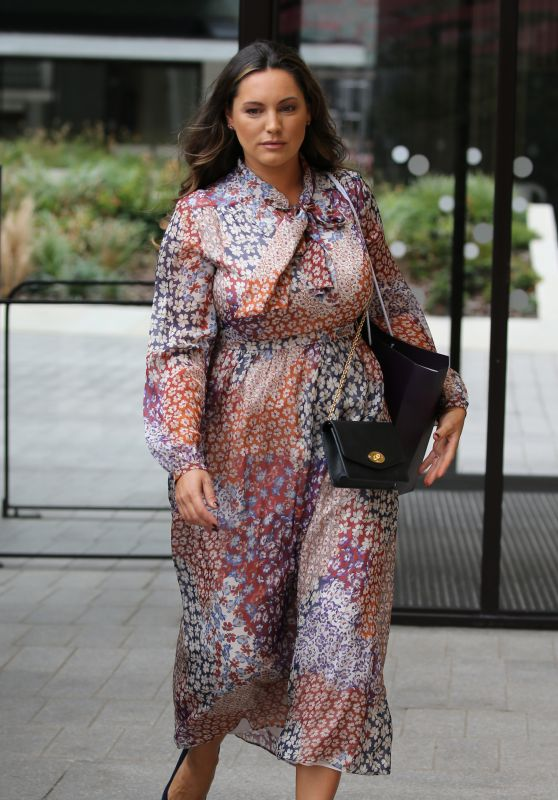 Kelly Brook - Outside the ITV Studios in London 09/19/2018