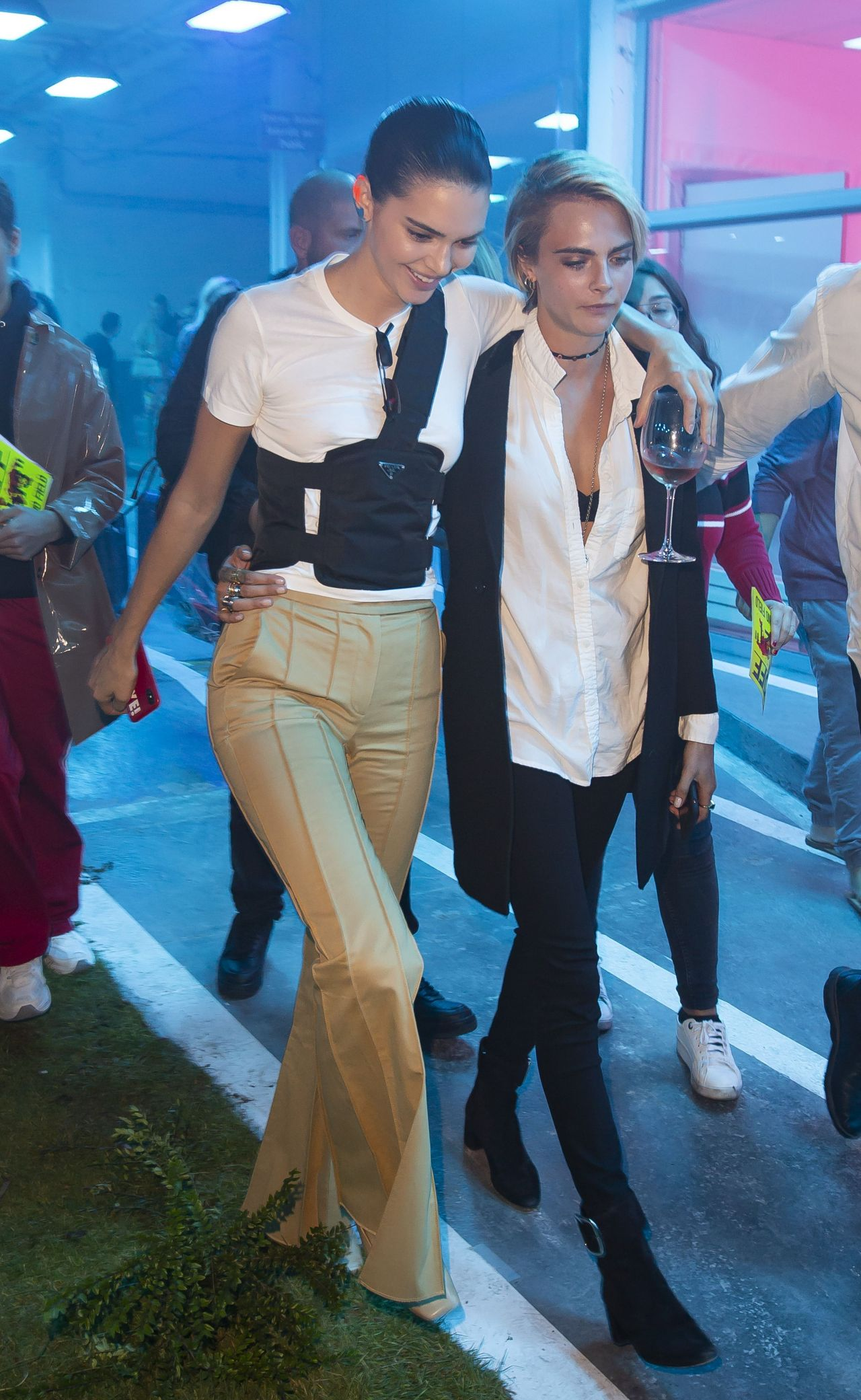 Kendall Jenner White Jeans