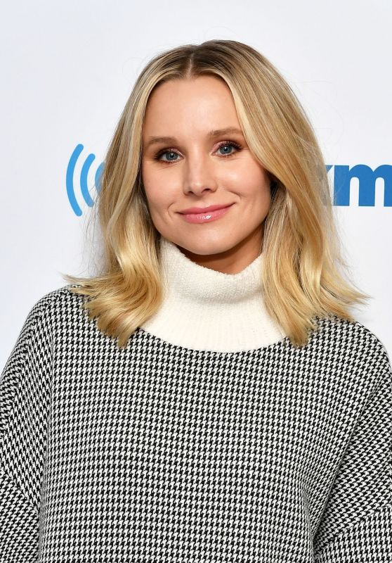 Kristen Bell - Visits SiriusXM in New York 09/26/2018