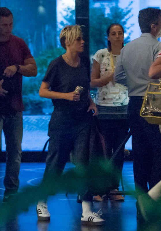 Kristen Stewart Candids - at a Hotel in Berlin 09/17/2018