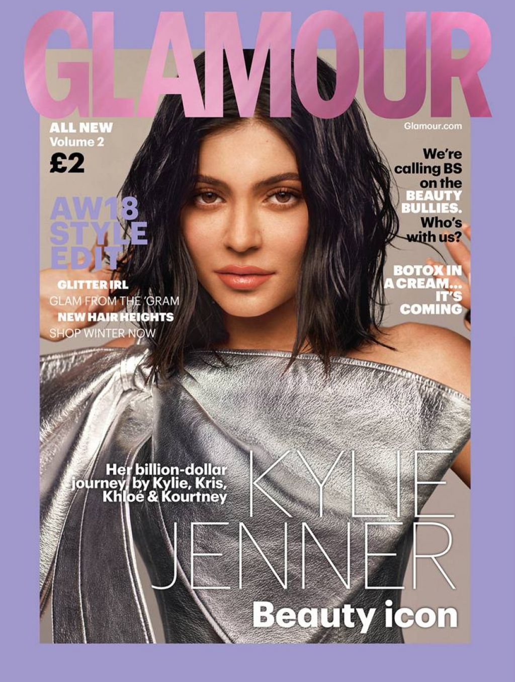 Kylie Jenner - Glamour Magazine UK Autumn/Winter 2018