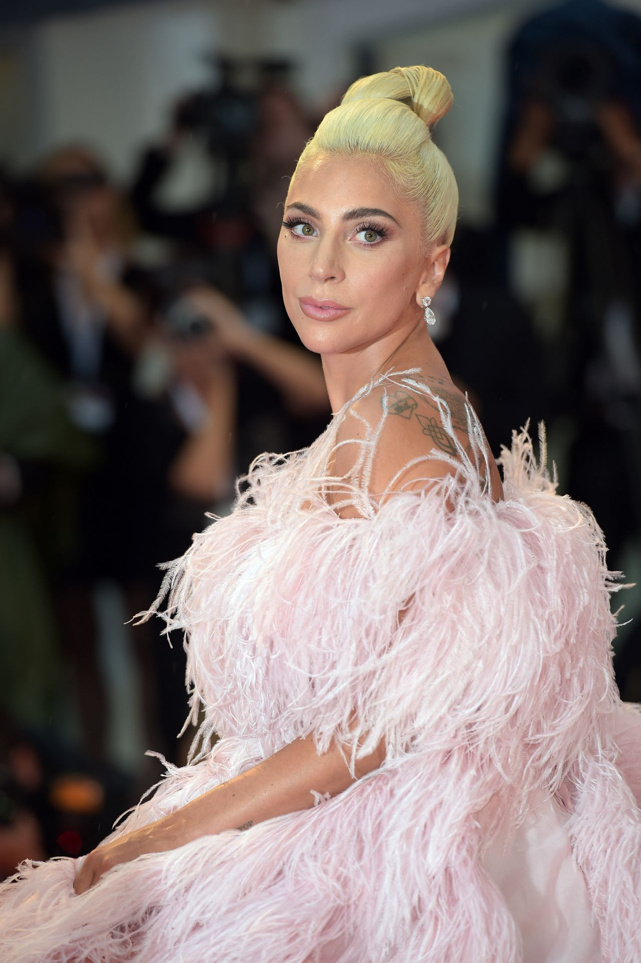 "Lady Gaga – ""A Star is Born"" Red Carpet at Venice Film ..."