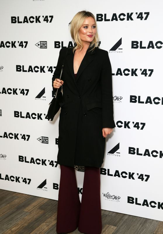 "Laura Whitmore - ""Black 47"" Screening in London 09/26/2018"